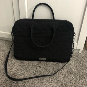 Black Vera Bradley Laptop Bag🖤